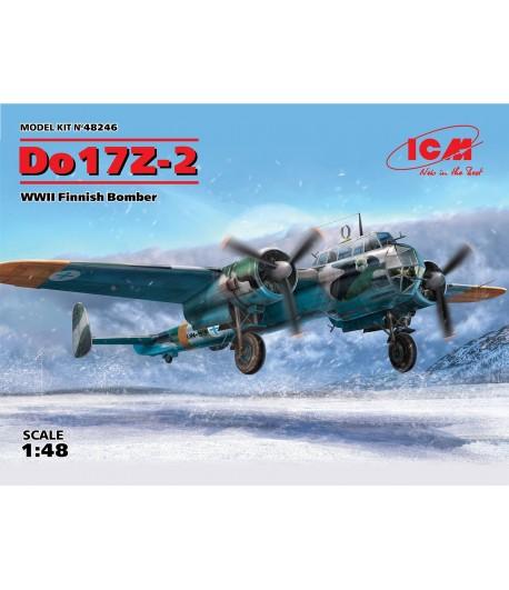 Бомбардировщик ВВС Финляндии ІІ МB, Do 17Z-2 ICM 48246