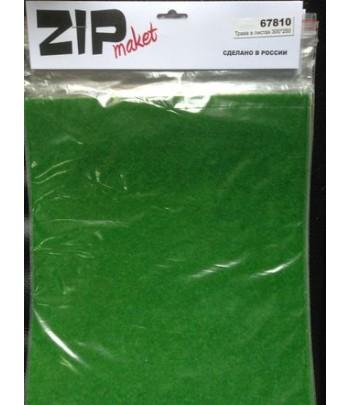 Трава в листах 300*250 ZIP-maket 67810
