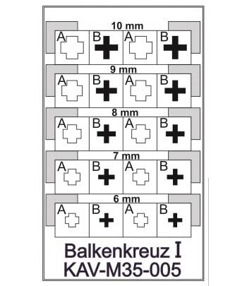 Балочный крест KAVmodels KAV M35 005