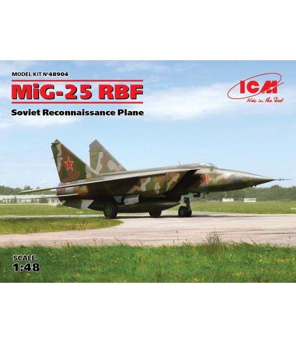 МиГ-25 РБФ, Советский самолет-разведчик ICM 48904