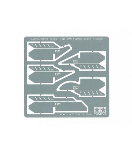 Набор тонких пилок-полотен I толщиной 0,1 мм. TAMIYA 74094