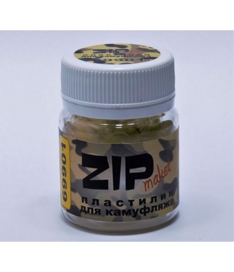 Пластилин для камуфляжа, желтый ZIP-maket 69901
