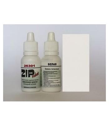Краска модельная белый. (Диоксид титана) ZIP-maket 26301