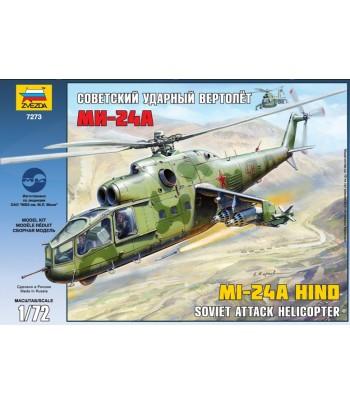 Советский ударный вертолет Ми-24А ЗВЕЗДА 7273