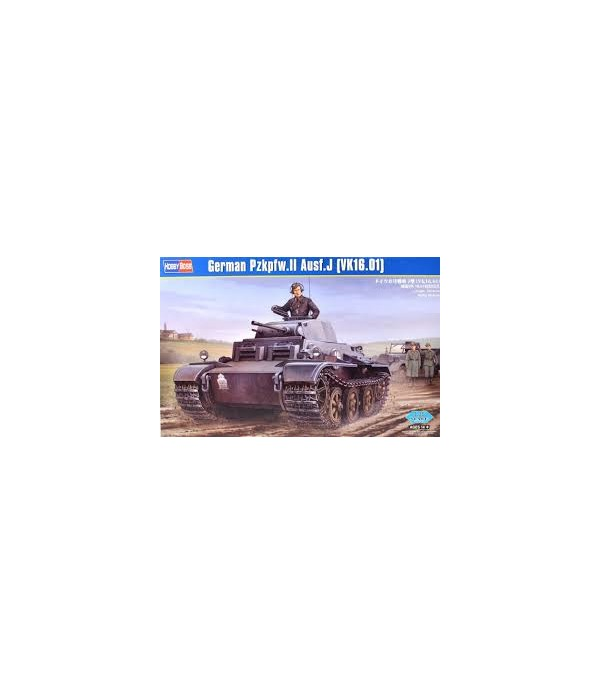 Танк German Pzkpfw.II Ausf.J (VK1601) 1/35 HOBBY BOSS 83803