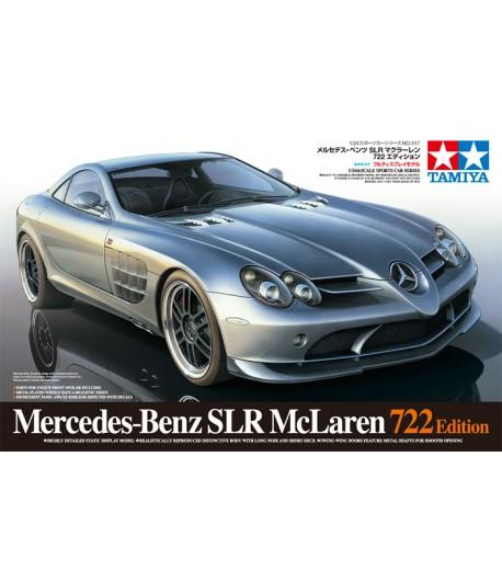 Автомобиль Mercedes-Benz SLR McLaren 722 Edition TAMIYA 24317