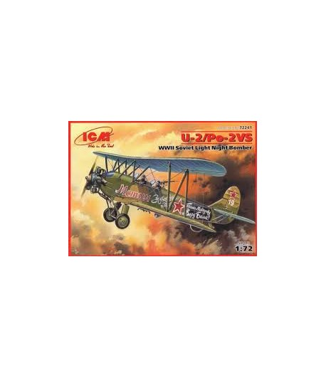 Советский легкий ночной бомбардировщик ІІ МВ По-2 ICM 72241