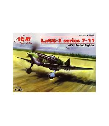 ЛаГГ-3, серия 7-11, совесткий истребитель ІІ МВ ICM 48093