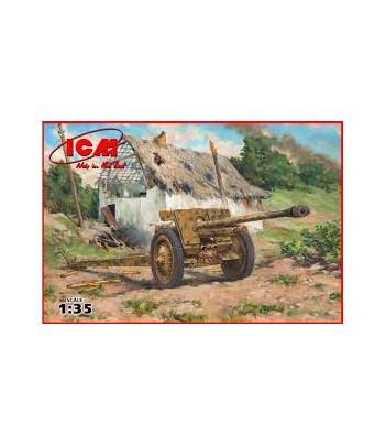 7,62 cm Pak 36(r) WWII German Anti-Tank Gun ICM 35701