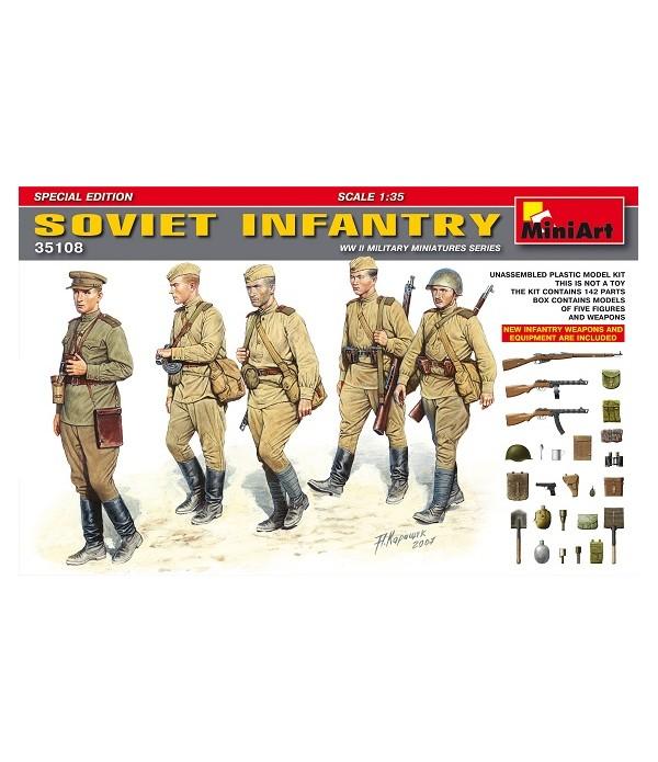 Советская пехота. Специальный выпуск MINIART 35108