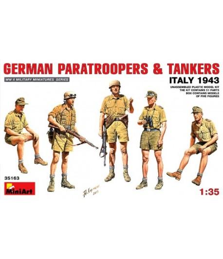 Немецкие десантники и танкисты, Италия 1943г. MiniArt MINIART 35163