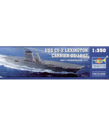 USS CV-2 Lexington carrier 05/1942 TRUMPETER 05608