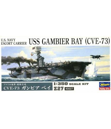 Авианосец U.S. USS GAMBIER BAY (CVE-73) HASEGAWA 40027