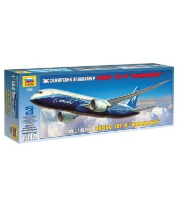 "Пассажирский авиалайнер Боинг 787-8 ""Дримлайнер"" ЗВЕЗДА 7008"