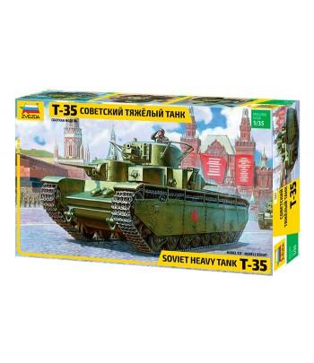 Советский тяжелый танк Т-35 ЗВЕЗДА 3667