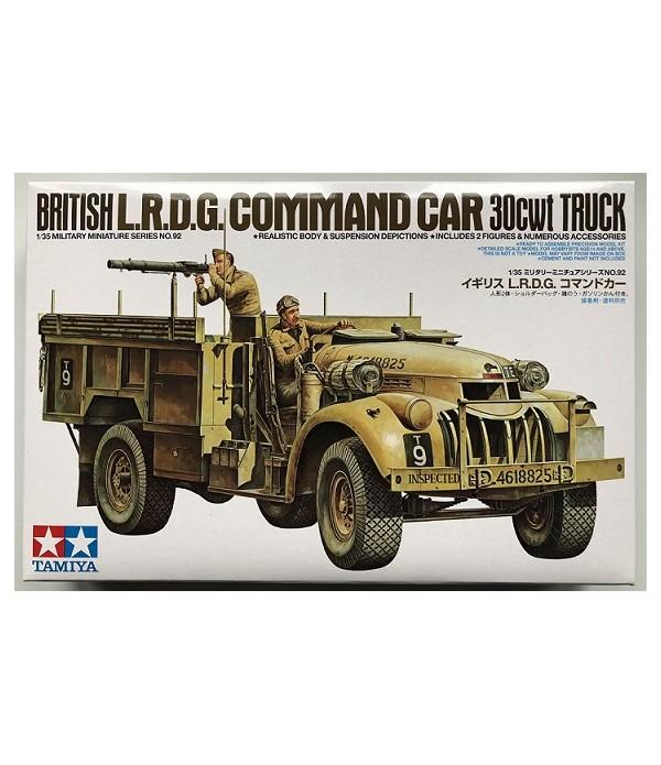 Английский British LRDG Chevrolet- CA192 TAMIYA 35092