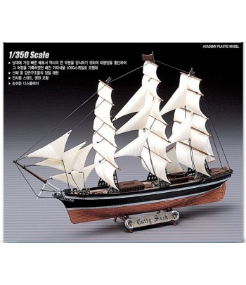 КорабльClipperShipCuttySark(1:350) ACADEMY14110