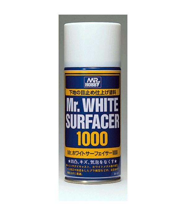 B-511 Грунтовка-спрей Mr.White Surfacer 1000 170мл GUNZE SANGYO