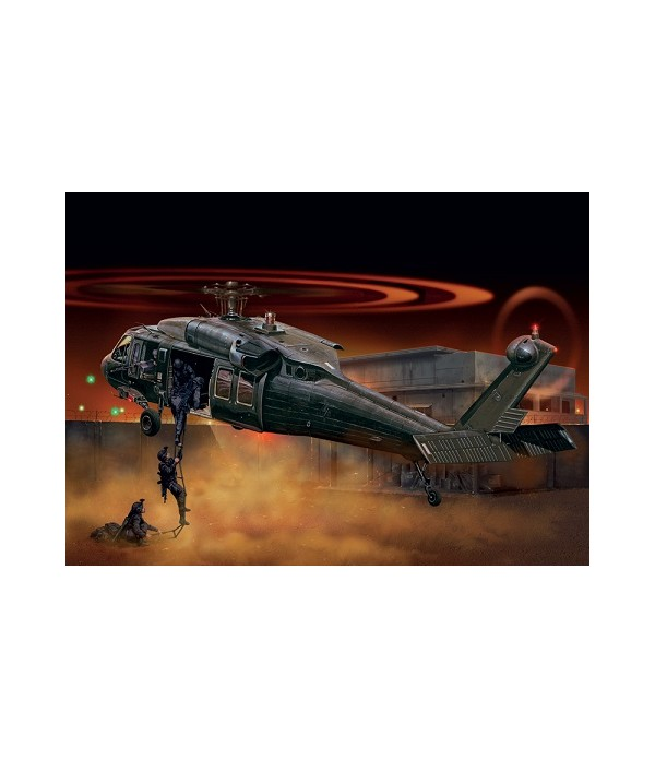 "Вертолет UH-60/MH-60 BLACK HAWK ""NIGHT RAID"" (1:72) ITALERI 1328"