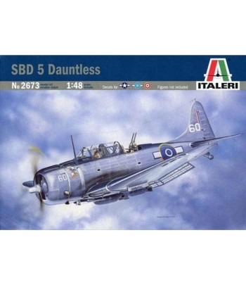 Самолет SBD-5 Dauntless ITALERI 2673