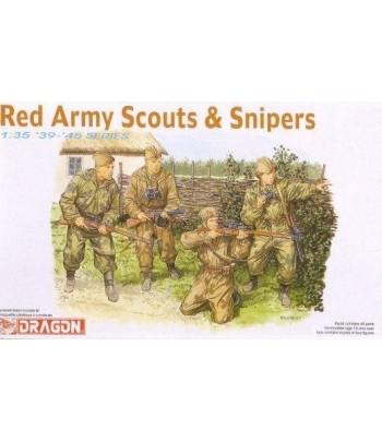 Разведчики и снайперы Красной Армии DRAGON 6068