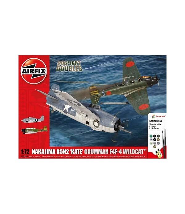 СамолётNakajimaB5N2KateGrummanAIRFIX50169