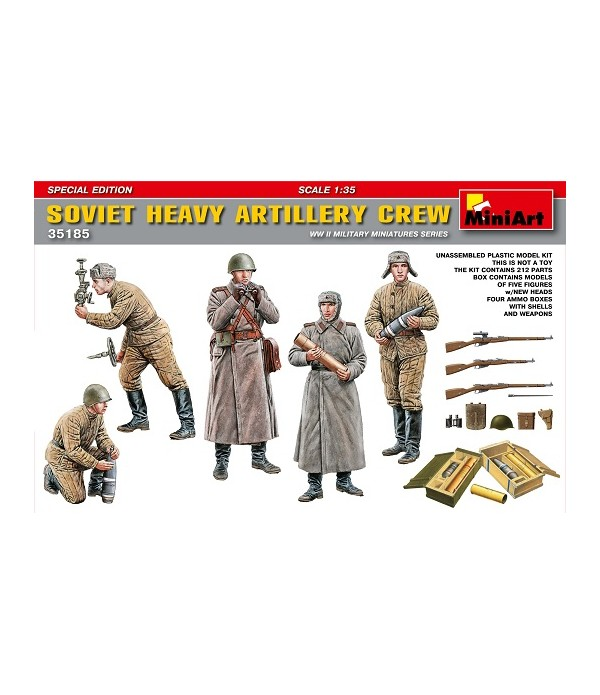 Советский расчёт тяжёлой артилерии. Специальное издание MINIART 35185