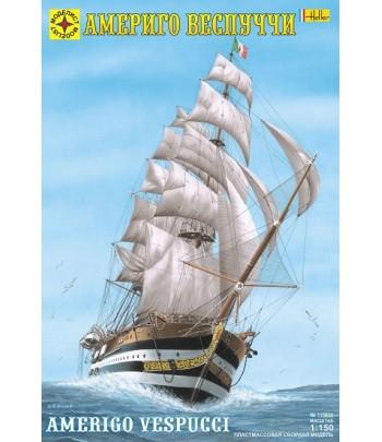 """Корабль """"Америго Веспуччи"""" (1:150) МОДЕЛИСТ 115060"""