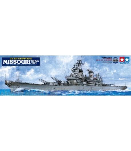 Корабль Миссури (Circa 1991) TAMIYA 78029