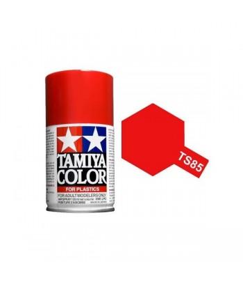 TS-49 Bright Red (Ярко красная) краска-спрей TAMIYA 85049