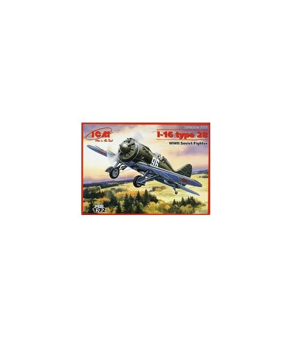 Самолет И-16 тип 28 ICM 72073