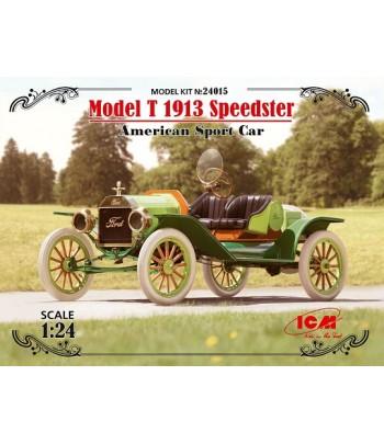 "Model T 1913 ""Спидстер"", Американский спортивный автомобиль ICM 24015"