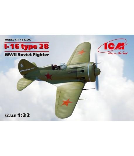 И-16 тип 28, Советский истребитель ІІ МВ ICM 32002