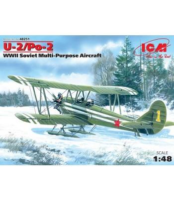 Советский многоцелевой самолет По-2 ICM 48251
