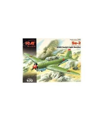 Су-2 Советский легкий бомбардировщик 2 МВ ICM 72081