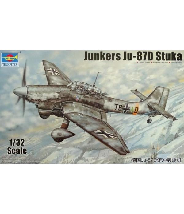 Самолёт Junkers Ju-87D STUKA (1:32) TRUMPETER 03217