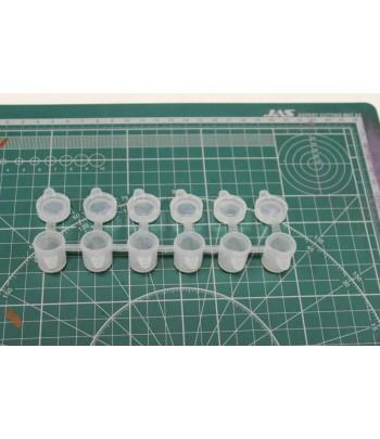 Набор баночек для колеровки краски KAV Jar-8-5 KAVmodels KAV JAR85