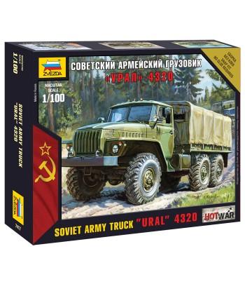 "Советский армейский грузовик ""Урал"" ЗВЕЗДА 7417"