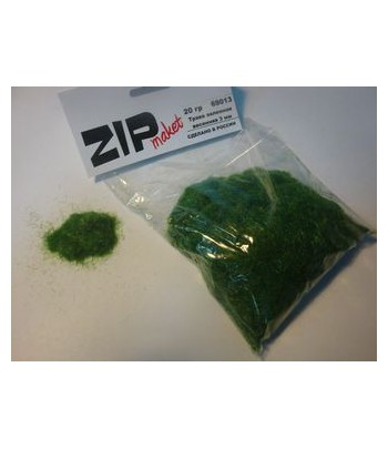 Трава зеленная весенняя 3 мм, 20 грамм ZIP-maket 69013