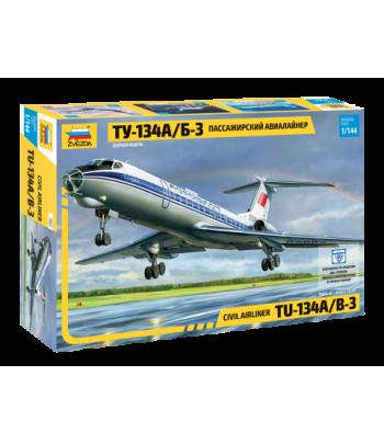 Пассажирский авиалайнер Ту-134А/Б-3 ЗВЕЗДА 7007