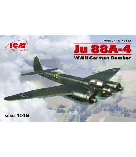 Ju88A-4 WWII German Bomber ICM 48233