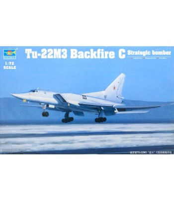 Tu-22M3 Backfire C Strategic bomber TRUMPETER 01656