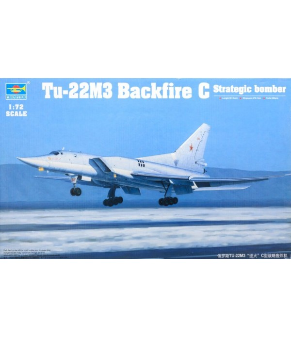 Tu-22M3 Backfire C Strategic bomber TRUMPETER 01656