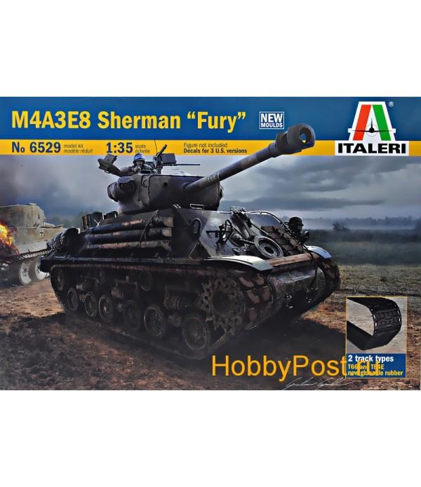 "Танк M4A3E8 SHERMAN ""Fury"" ITALERI 6529"