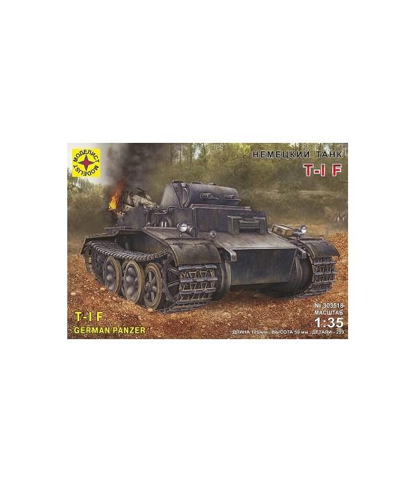 Танк Т-I F (Pz.Kpfw. I Ausf.F) МОДЕЛИСТ 303518