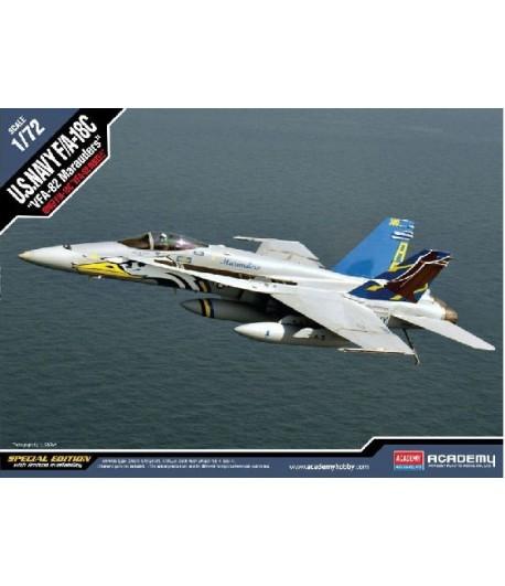 F/A-18CHORNETVFA-82MARAUDERS(1:72) ACADEMY12534