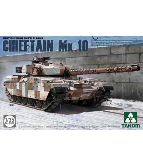 BRITISH MAIN BATTLE TANK CHIEFTAIN MK.10 TAKOM TAK2028