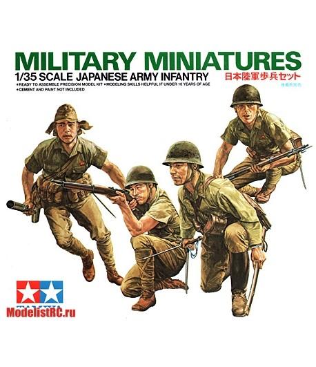 JAPANESE ARMY INFANTRY (ЯПОНСКАЯ ПЕХОТА) TAMIYA 35090