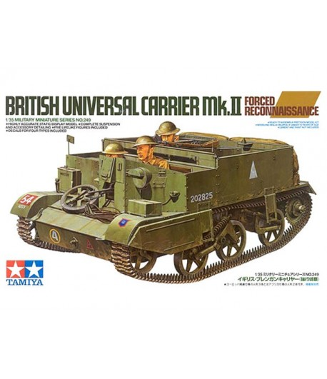 BRITISH UNIVERSAL CARRIER MK.II FORCED RECON (АНГЛИЙСКИЙ РАЗВЕДЫВАТЕЛЬНЫЙ БТР ЮНИВЕРСАЛ КЭРРИЕР MK.2