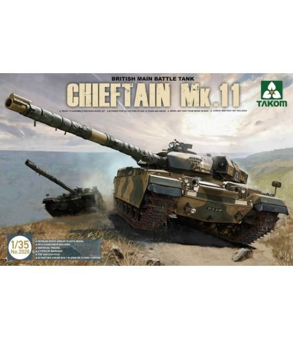BRITISH MAIN BATTLE TANK CHIEFTAIN MK.11 TAKOM TAK2026